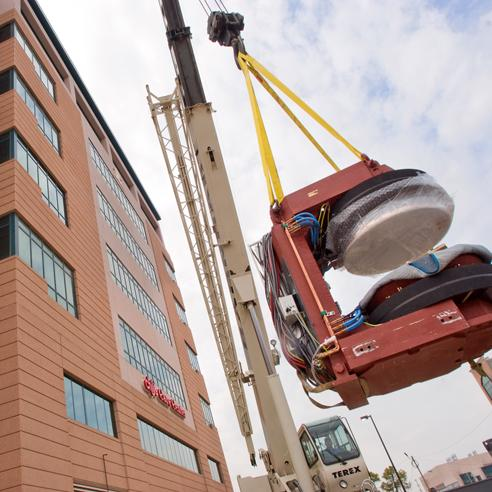 St. Jude Children's Research Hospital, HealthSouth Rehabilitation and Methodist South Hospital have each filed permits in recent days to continue construction projects.