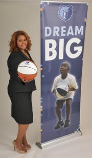 Teresa DickersonDirector, Community InvestmentMemphis GrizzliesProfessional goals: To create opportunities for area youth through education, community outreach and sport development initiatives. Dream big!