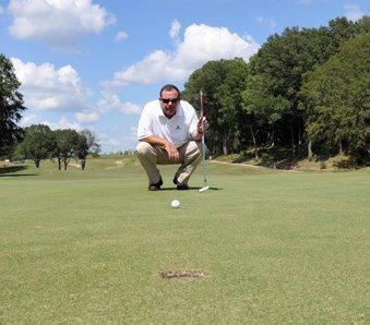 Mirimichi golf pro Alec Walker