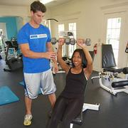 Corey Klein with client Talisha Hayes