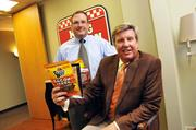 No. 914Monogram Food Solutions3-year growth: 359%In this photo: Wes Jackson (president) and Karl Schledwitz (CEO)