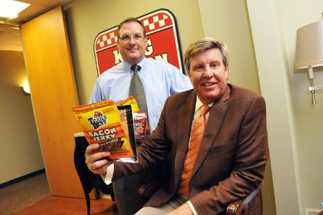 Wes Jackson and Karl Schledwitz of Monogram Food Solutions
