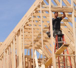 Sales of new homes hit a two-year high in May, according to the U.S. Commerce Department.