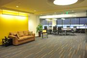 The receptionarea at Pinnacle Air'sOne Commerce Square office
