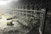 Use this photo gallery to view images of the current demolition work underway in the Pyramid.