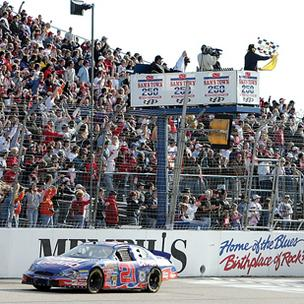 Kevin Harvick won the 2006 Sam's Town 250 at Memphis Motorsports Park, which is up for auction.