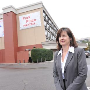 Linda Speer, general manager of the Park Place Hotel