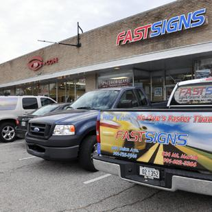 FastSigns is expanding its business by moving across Union Avenue to a larger space left vacant by Midtown Video, which is now out of business.