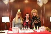 Elizabeth Smith, Nadine Golden and Debby Allen at Paragon's Grove Park 