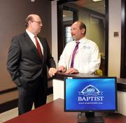 Jim Boswell and Cary Finn head up Baptist Medical Group's new leadership team.