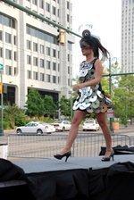 Trashion show turns trash into fashion