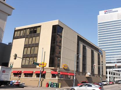 Roberts Benchmark Hotel in the heart of Downtown has been closed for almost a year.