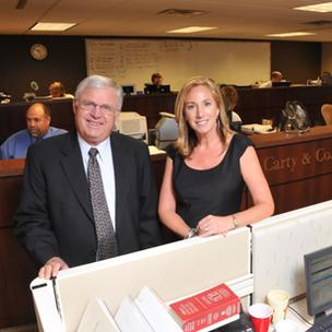 Carty & Co. CEO Bill Carty and COO Jennifer Scola