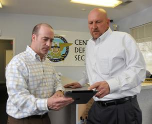 Craig Weiss and Larry Carroll have studied the Texas market and will expand their security guard business there.