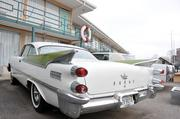 1959 Dodge is one of two vehicles parked below the balcony at the Lorraine Motel, where Martin Luther King Jr. was assassinated.
