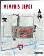 Depot property under contract