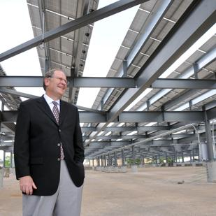 Steve Bares President and executive director Memphis Bioworks Foundation