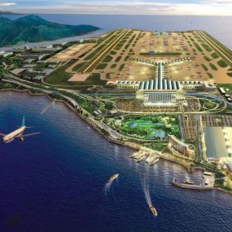 Artist's rendering of Hong Kong International Airport, one of many worldwide airports that will send representatives to Memphis.