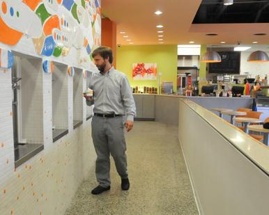 Taylor Berger, seen here at one of his Yolo locations, is opening a new Downtown Memphis cafe.