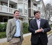 Tommy Bronson III and Blake Pera say the strength of the apartment market now has more investors looking for Class A properties, not just distressed properties.