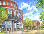 Highland Row mixed-use development was designed by LRK but has yet to be developed.
