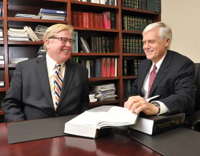 James Mulroy and James Stock of Jackson Lewis LLP, which established a law office in Memphis in 2008