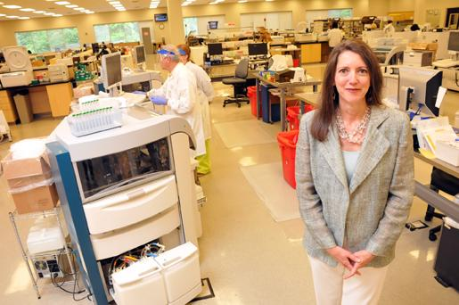 Rosanne Russell at American Esoteric Laboratories, which is using acquisitions to help grow its footprint.