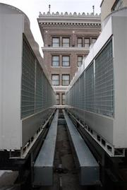A new HVAC system at Metro 67 took energy equipment off the rooftop.