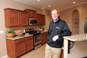 Homebuilder Keith Grant in a model home he recently completed in Bartlett Pointe subdivision.