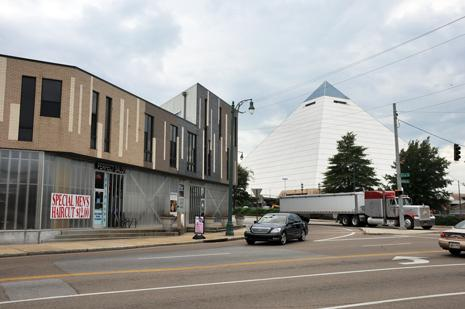 Bass Pro's hotel in the Pyramid won't spur a new convention center, but will help development in north Downtown.