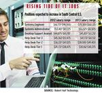 Survey shows employment outlook for  IT staff fares better in South Central region