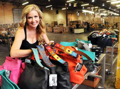 Katie Kalsi created a new style of custom-designed purses that appear to have broad appeal. Her company's distribution now extends to 13 states.