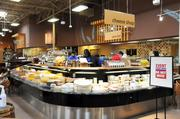 An expanded cheese department in Kroger's new Poplar Plaza store is one of many new additions to its lineup of products.