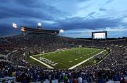 A crowd of more than 39,000 attended the University of Memphis' season opener, attracted in part by the new jumbotron.