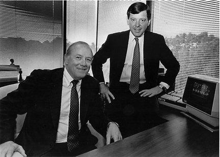 Morgan Keegan founders James Keegan and Allen Morgan Jr.