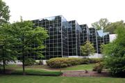 The Oaksedge Office Campus, once the headquarters of Harrah's, was designed by Memphis architect Francis Mah.
