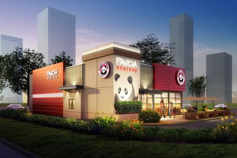 Panda Restaurant Group has chosen a high-traffic area