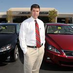 Former teacher <strong>Bryan</strong> <strong>Smith</strong> goes back to his roots at Lexus of Memphis