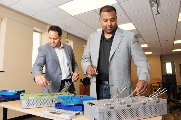 Shawn Flynn and Ryan Ramkhelawan of Restore Medical Solutions were participants in the first Zero To 510 accelerator.