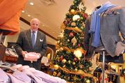 Van Weinberg is expecting 'a small increase' in merchandise sales at James Davis compared to 2011. Up to 20 percent of annual sales can come in the holiday season.