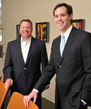 Fred Hiatt and John Phillips started their investment advisory firm, Red Door Wealth Management, at a time of market turmoil, offering investors a new option.