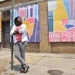 Art helping beautify abandoned buildings