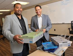 Ryan Ramkhelawan and Shawn Flynn are building their
