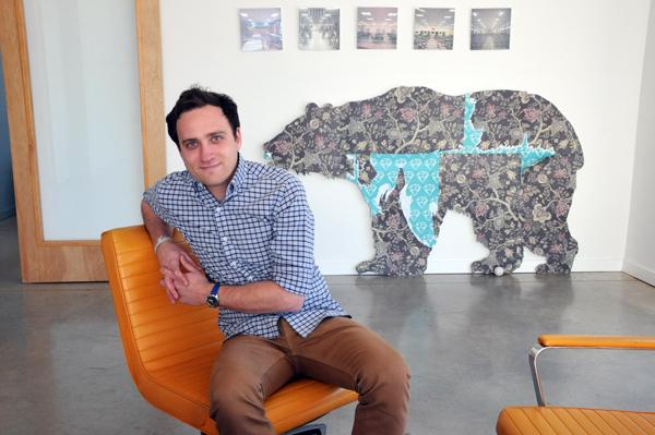 Joel Halpern's advertising agency, Loaded for Bear, has a principal of the firm working on every client account.