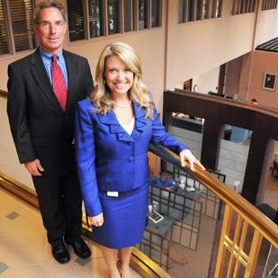 Campbell Clinic CEO George Hernandez and newly hired chief operating officer Sarah Maurice are leading expansion efforts of the orthopedic and sports medicine business.