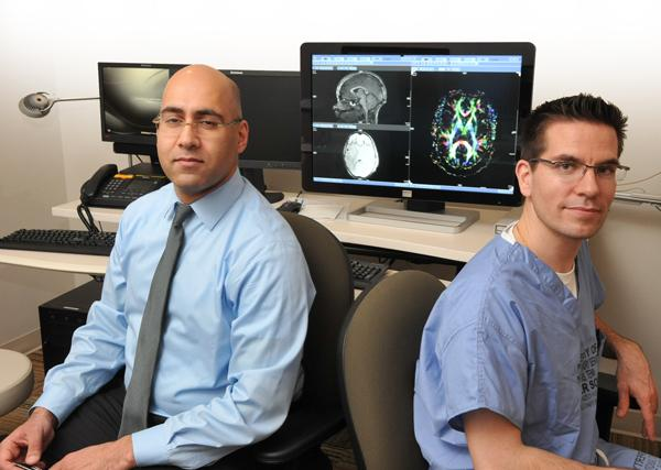 Asim F. Choudhri, M.D., and pediatric nuerosurgeon Paul Klimo specialize in brain injuries, which have become more public due to sports injuries.