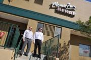 Rick Smith and Bobby Tranum repositioned 11 tenants as part of renovation project.
