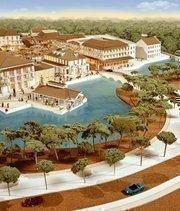 LRK designed this mixed-use development, called Rouzan, in Baton Rouge, LA.