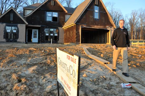 Grant & Co. co-owner Keith Grant  says foreclosed or deeply discounted home sites are 'the only way a builder can be viable today.'
