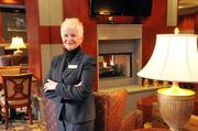 Residence Inn Downtown general manager Tricia Weatherford in hotel lobby